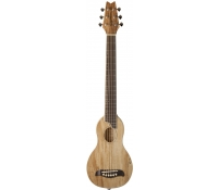 Washburn RO10SS Spalted Maple Rover Acoustic Travel Guitar